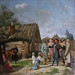 Vasily Pukirev - Сбор недоимок 1875