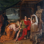 Alexander Ivanov - King Priam begging Achilles for the return of Hectors body