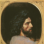 Konstantin Makovsky - Head of John the Baptist, study for The Appearance of Christ before the People