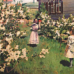 Виктор Борисов-Мусатов - borisov-musatov_flowers_in_may_1894