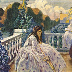 Виктор Борисов-Мусатов - borisov-musatov_on_the_terrace_1903