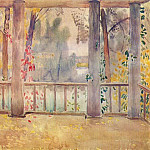 Виктор Борисов-Мусатов - borisov-musatov_on_the_balcony_in_tarusa_1905