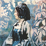 Виктор Борисов-Мусатов - borisov-musatov_lady_in_blue_1902