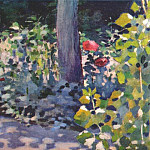 Виктор Борисов-Мусатов - borisov-musatov_poppies_in_a_garden_1894