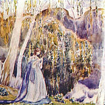 Виктор Борисов-Мусатов - borisov-musatov_spring_tale_(sketch_for_a_panel)_1904-5