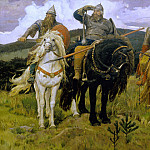 Viktor Vasnetsov - Warrior Knights