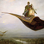 Viktor Vasnetsov - The Magic Carpet