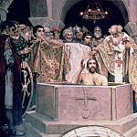 Viktor Vasnetsov - The Christening of Grand Duke Vladimir (c.956-1015)