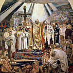 900 Classic russian paintings - Baptism of Rus