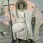 Viktor Vasnetsov - The Son of God - The Word of God