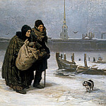 Vasily Vereshchagin - From Lodging to Lodging