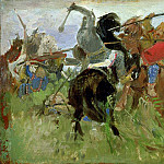 Vasily Vereshchagin - Battle between the Scythians and the Slavonians
