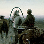 Ilya Repin - Arkhipov, Abram Efimovich -- The Return Journey, 1896