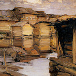 Абрам Ефимович Архипов - Arkhipov Abram Northern village Sun