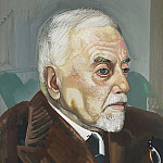 Boris Grigoriev - Portrait of a Man