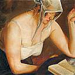Boris Grigoriev - Woman Reading