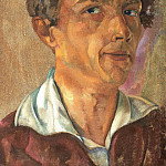 Boris Grigoriev - Self-portrait