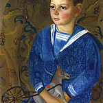 Boris Grigoriev - Boy In A Sailor Suit