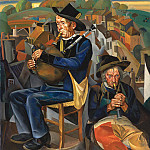 Boris Grigoriev - Pipe Players