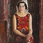 The girl from California, Boris Grigoriev