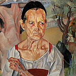 The old woman-thrush, Boris Grigoriev
