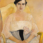 Boris Grigoriev - Portrait Of A Lady