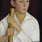 Portrait of Patricio Edwards, Boris Grigoriev