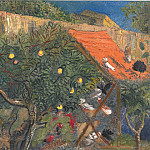In The Garden, Boris Grigoriev