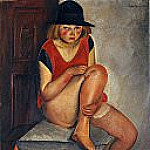 The Model, Boris Grigoriev