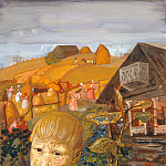 Sergei Esenin as a Youth, Boris Grigoriev