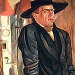 Self-Portrait, Boris Grigoriev