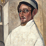 Boris Grigoriev - Portrait of the actor Nikolai Podgorny as Peter Trofimov in The Cherry Orchard by Anton Chekov