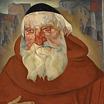 The monk, Boris Grigoriev