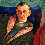 Boris Grigoriev - Portrait of A. A. Korovin (Collector)