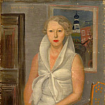 Boris Grigoriev - Female portrait