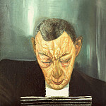 Portrait of Composer Rachmaninov, Boris Grigoriev