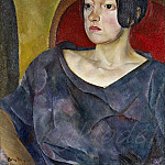 Portrait of a Woman, Boris Grigoriev