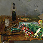 Still Life with Radishes, Boris Grigoriev
