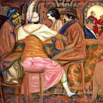 Roerich N.K. (Part 1) - In a Paris cafe