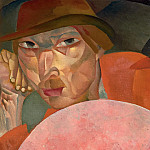 Boris Grigoriev - Russian man