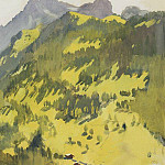 Zinaida Serebryakova - In the mountains Switzerland