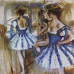 Zinaida Serebryakova - Two dancers