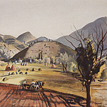 Zinaida Serebryakova - Castellane. The Valley