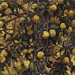 Apples on branches, Zinaida Serebryakova