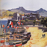 Port of Collioure, Zinaida Serebryakova