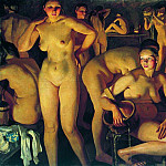 900 Classic russian paintings - Bathhouse