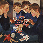 Zinaida Serebryakova - The house of cards