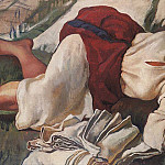 Sleeping peasant woman, Zinaida Serebryakova