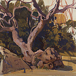 Zinaida Serebryakova - Trees in the Crimea