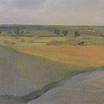 The fields. Neskuchnoye, Zinaida Serebryakova